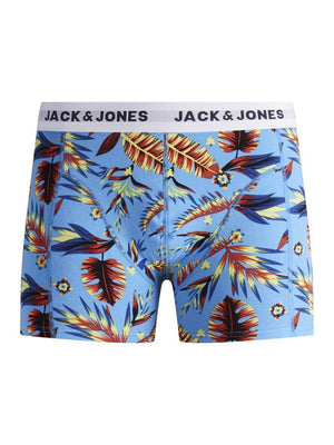 Boxer court Jack & Jones Print Bonnie Blue