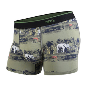 Boxer court Bn3th print savannah green