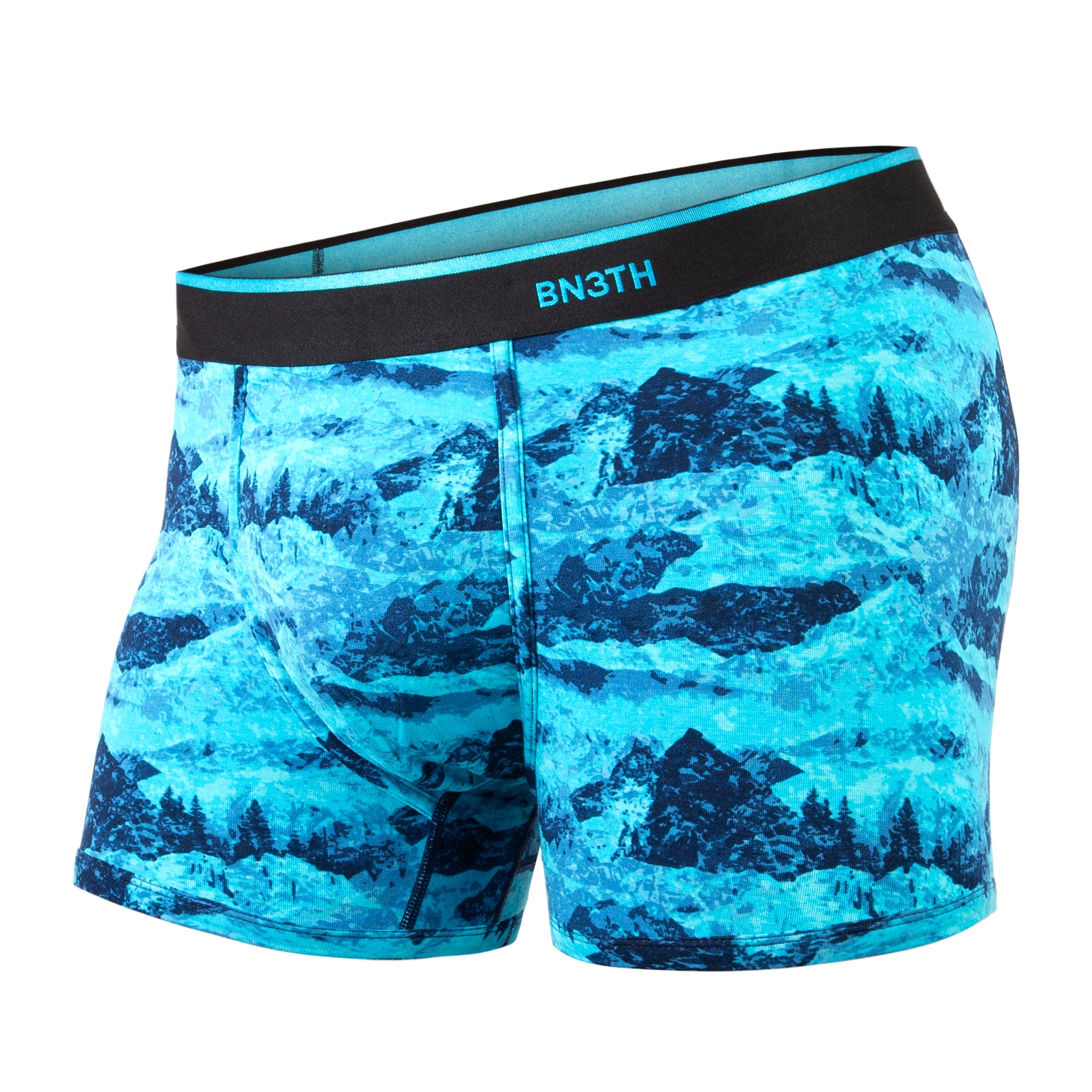 Boxer court Bn3th print peaks blues