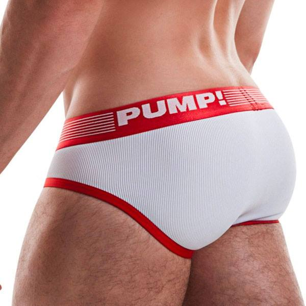 Pump Ribbed brief red