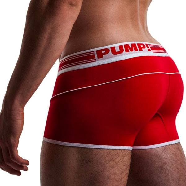Pump Red Free-fit boxer
