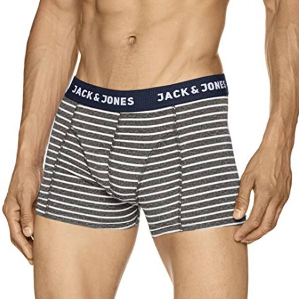 Jack & Jones Chris Boxer Grey Melange