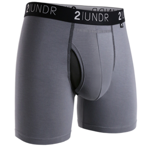 Boxer 2Undr Swing shift Grey/Black