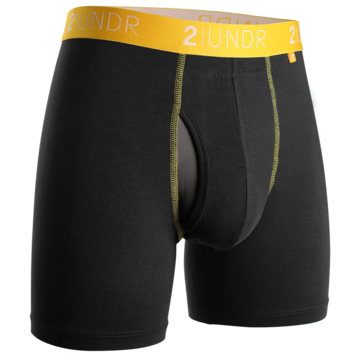 Boxer 2Undr Swing shift Black/Yellow