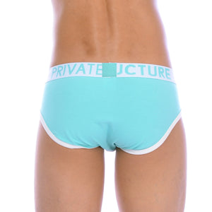 Private Structure Contour Brief Reef blue