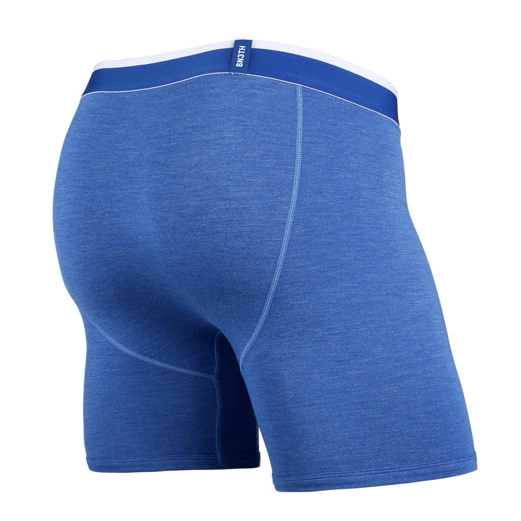 Boxer Bn3th classic blue heather and white