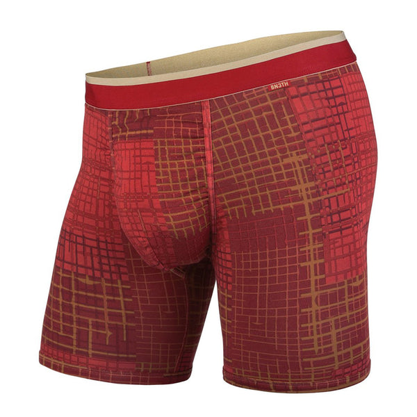 BN3TH classics boxer brief golden gate grid