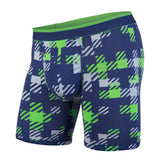 BN3TH classics boxer brief Team plaid navy green