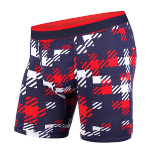 BN3TH classics boxer brief Team Plaid navy/red