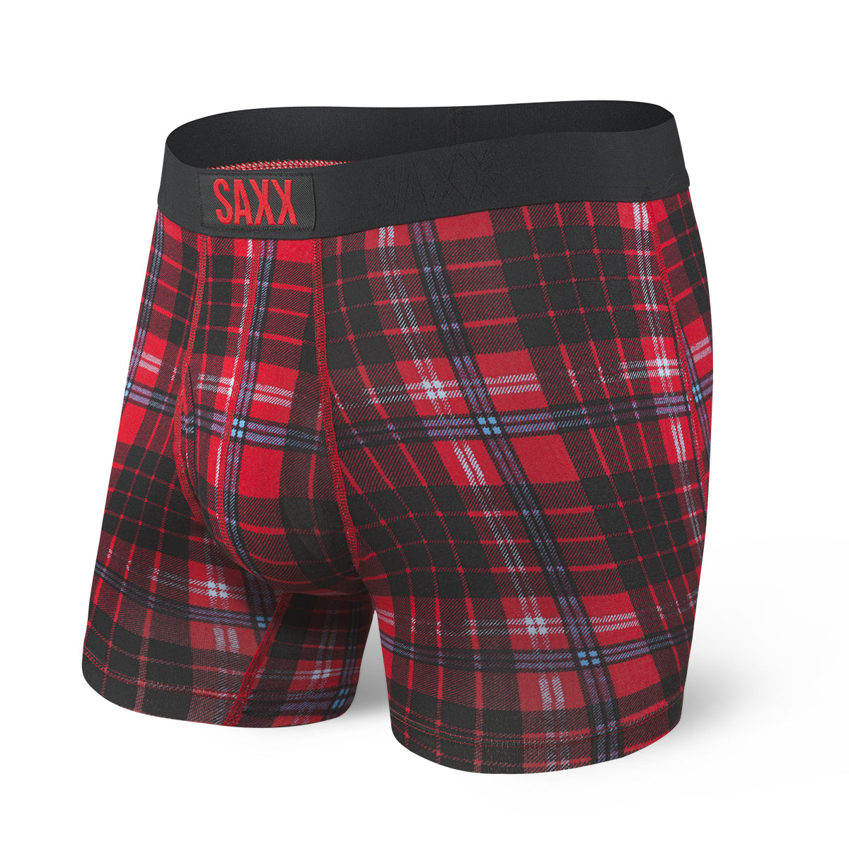 Boxer Saxx Ultra Fly Red Tartan
