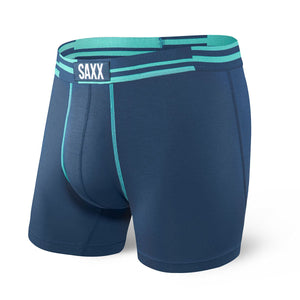 Boxer Saxx Vibe Blue Alternating Stripe