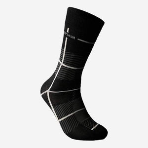 Chaussettes Bodyskin Check me out  - charcoal
