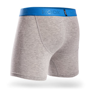 Boxer Hook Underwear Feel gris et bleu