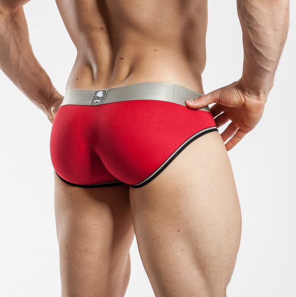 Private Structure Low Rise Brief Red