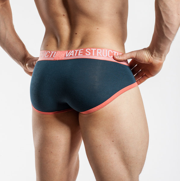 Private Structure Contour Brief Spectrum Bamboo Legion Blue