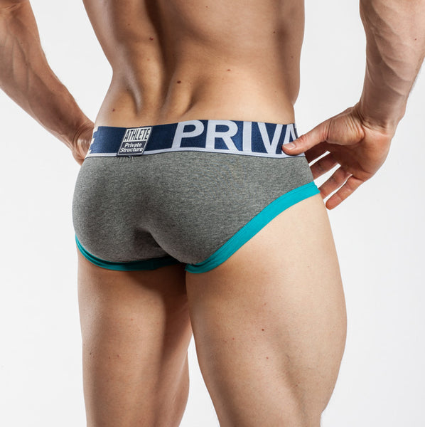 Private Structure Mini Brief Pewter