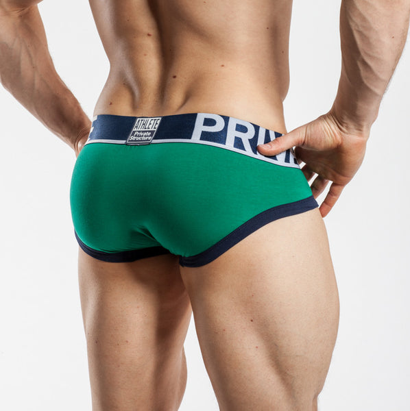 Private Structure Mini Brief Pepper Green