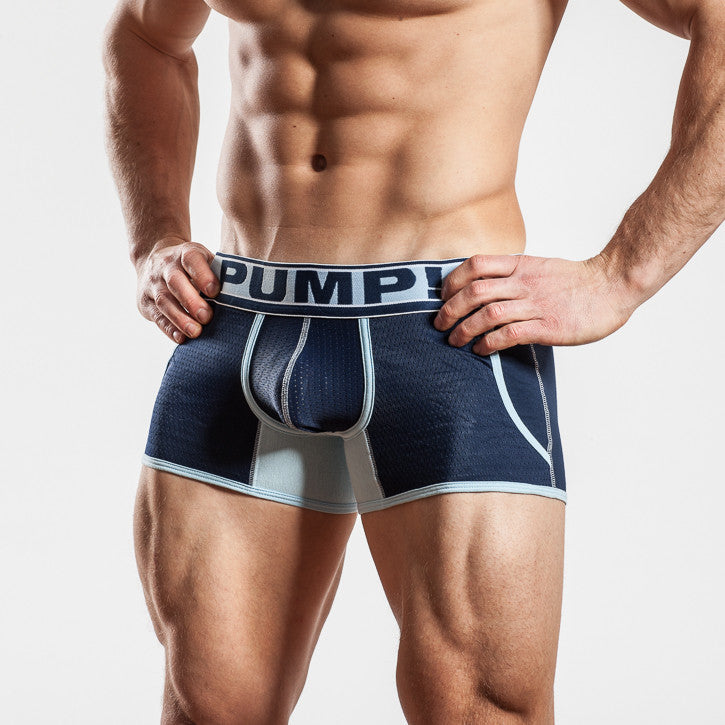 Boxer court Pump Jogger Blue steel