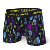 Boxer court Jack & Jones pop elements