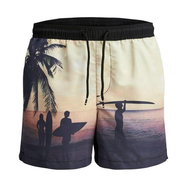 Maillot de bain Jack & Jones AKM Sublimation Black