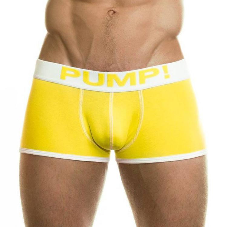 Boxer court Pump Neon Fuel Yellow