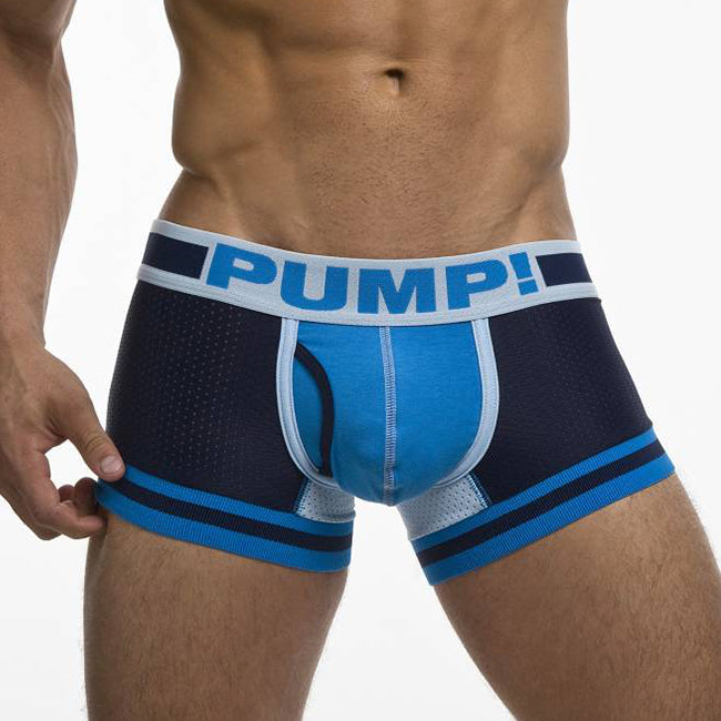 Boxer court Pump Touchdown True Blue
