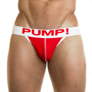 Jock Pump Neon Fuel Red