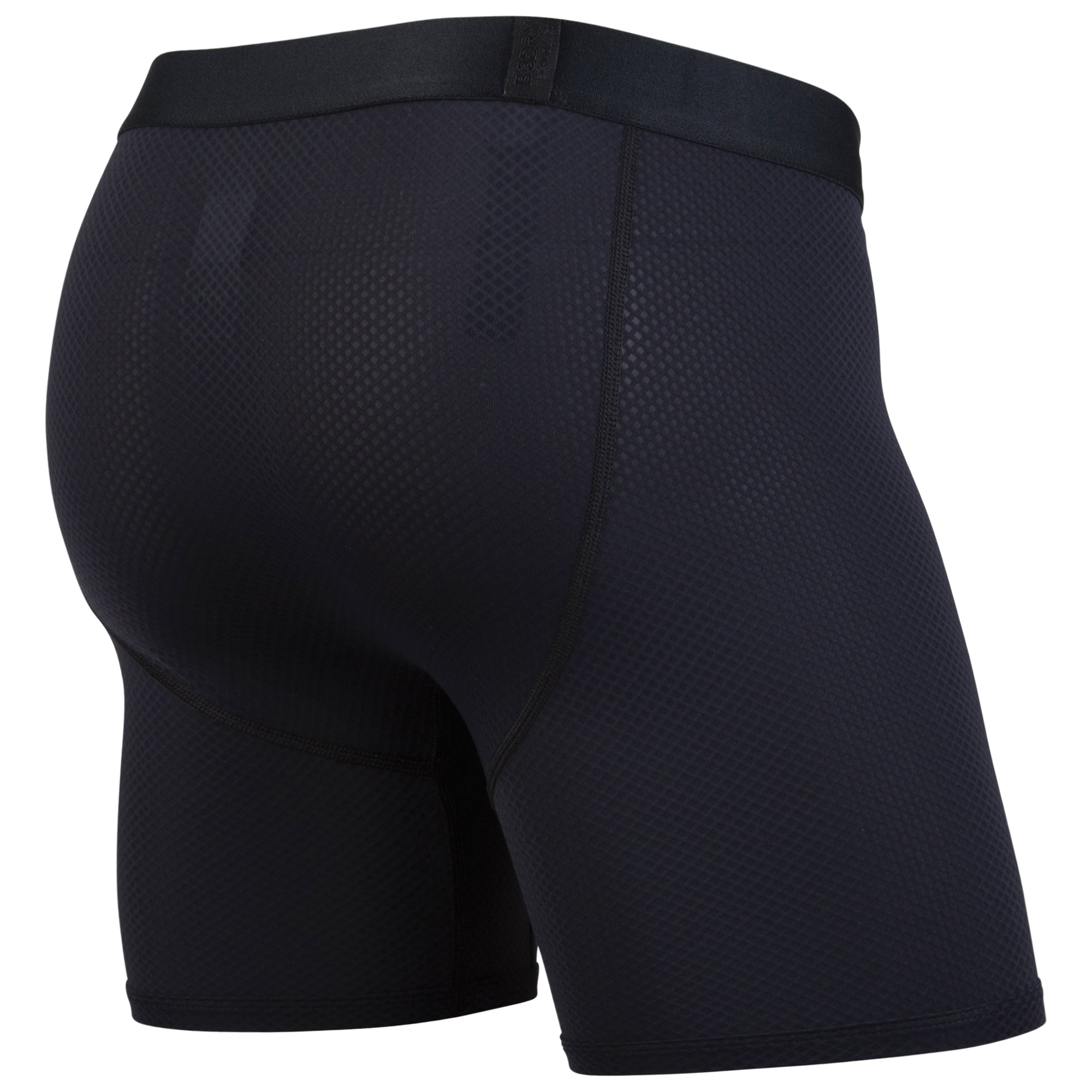 BN3TH PRO Compression Boxer Brief Black Heather