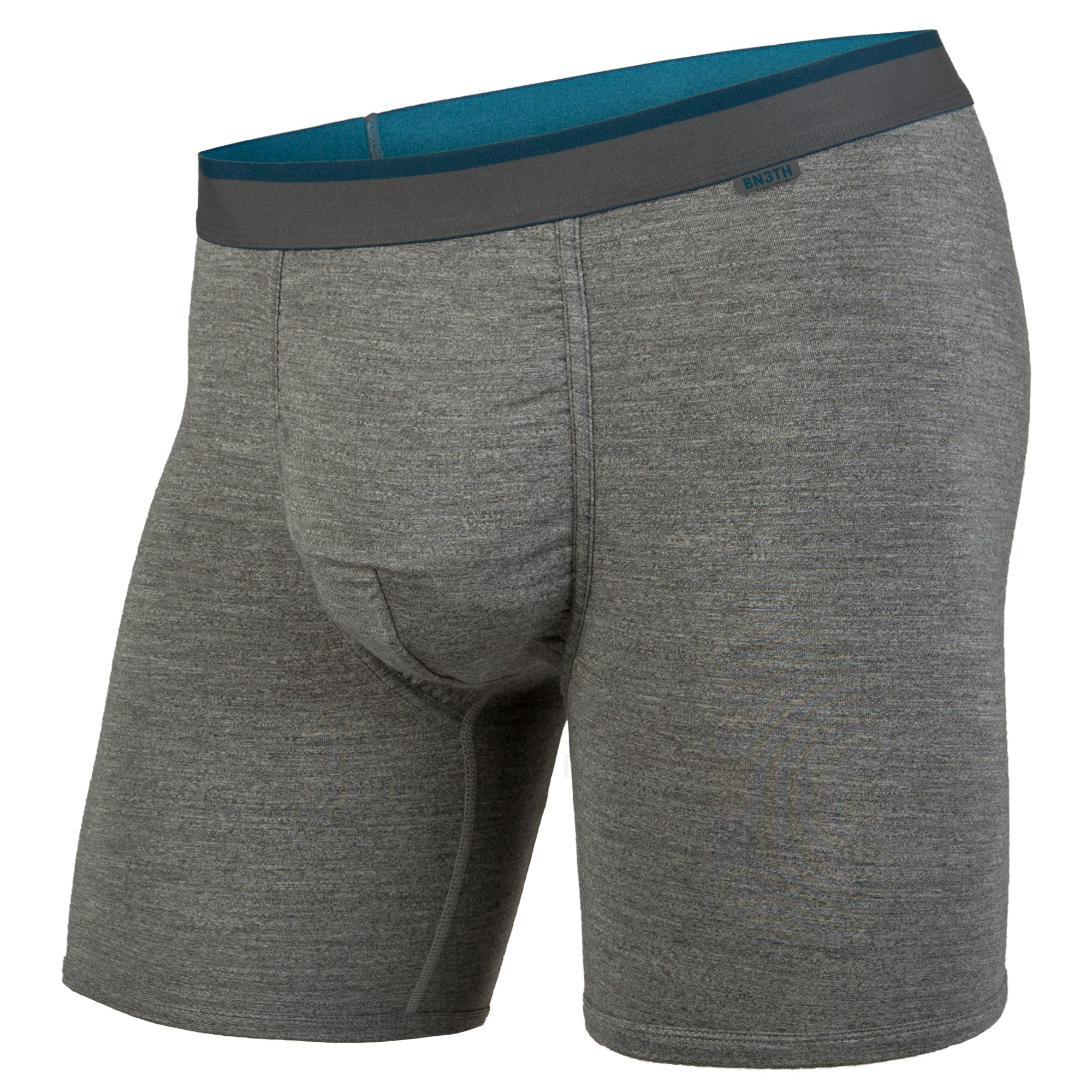 Boxer classic charcoal heather ink