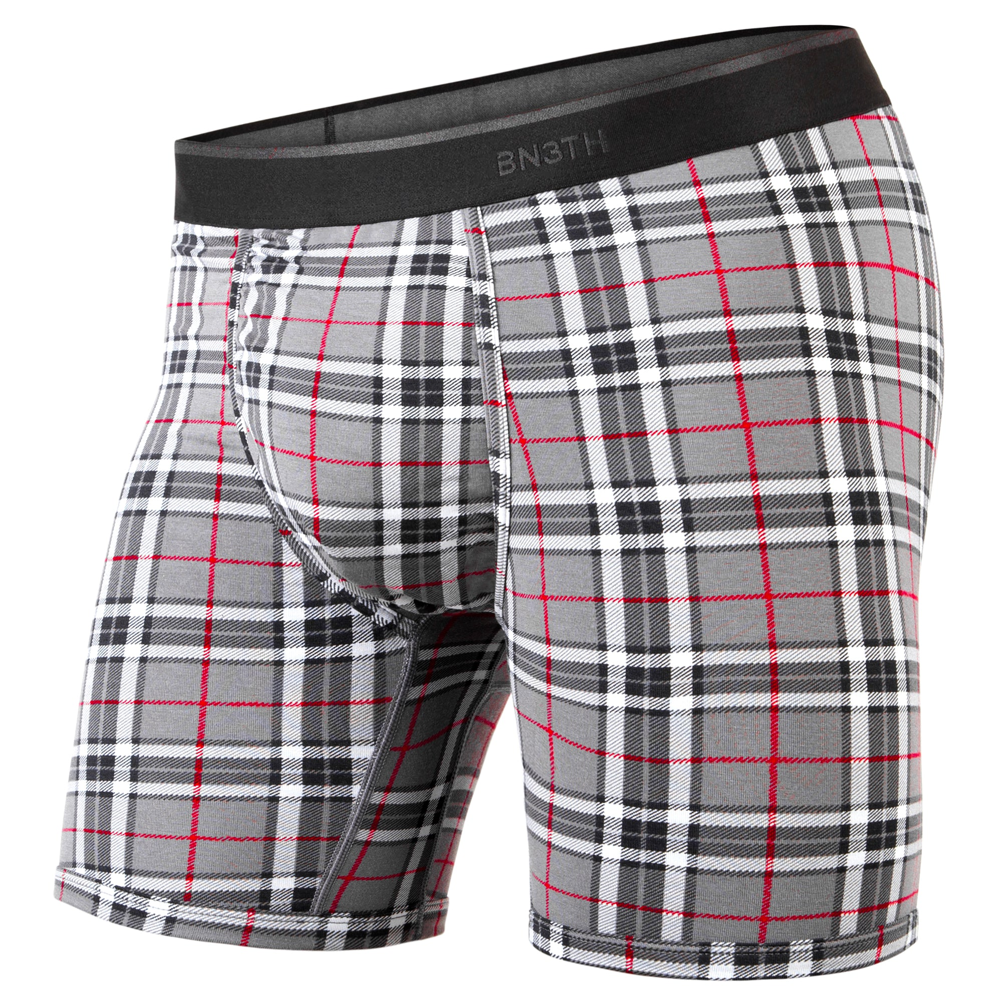Boxer classic Print Fireside Plaid Grey