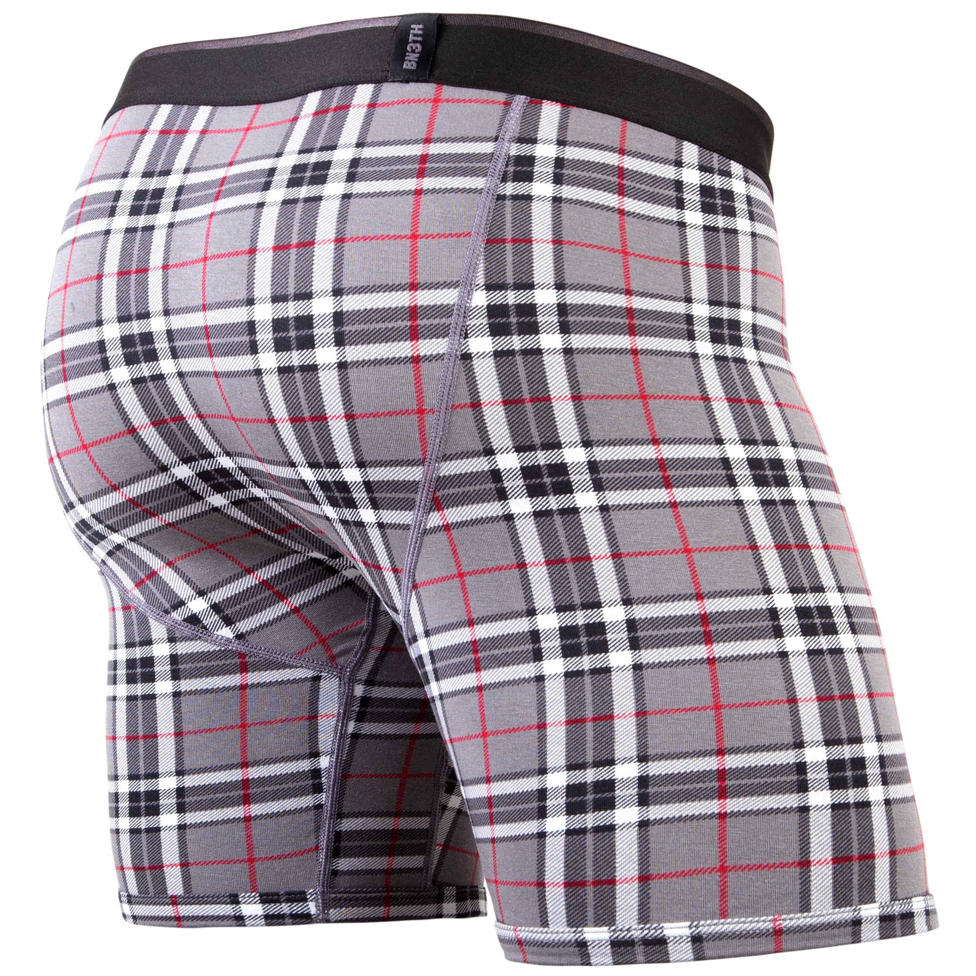 BN3TH classic boxer brief Print Fireside Plaid Grey