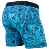 BN3TH classic boxer brief Print Mechanics Blue