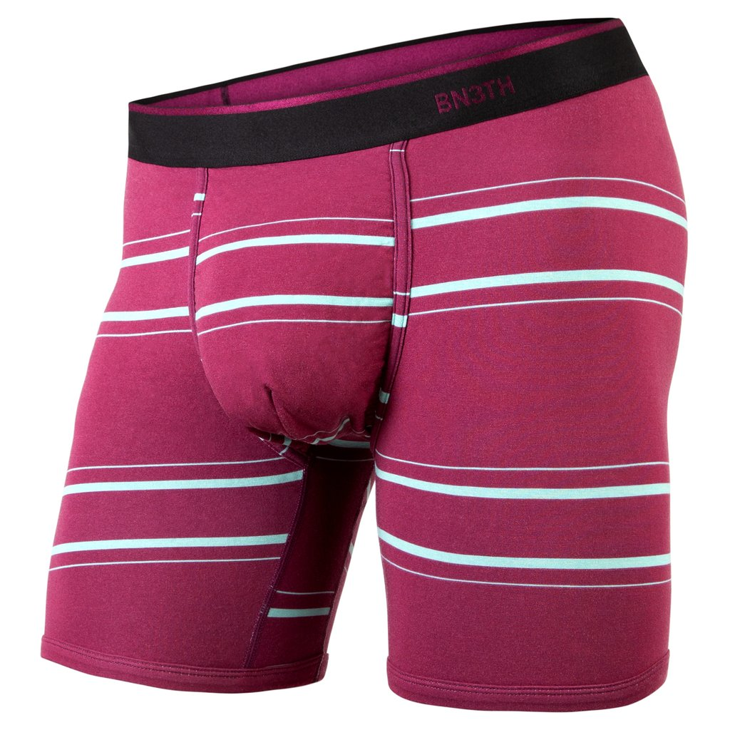 Boxer Bn3th classic Print Nice Stripe Wine