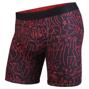 Boxer Entourage Black Red