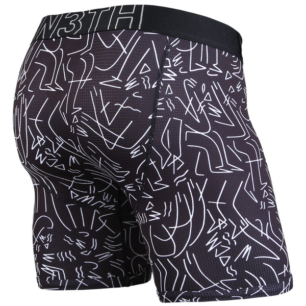 BN3TH Entourage Boxer Brief Black White