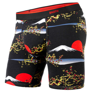 BN3TH classic boxer brief Print New Horizon Fuji Black