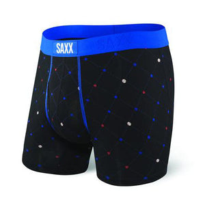 Saxx Ultra boxer Black Diamond Check