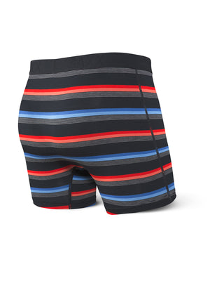 Boxer Saxx Ultra Fly Black Blurred Stripe
