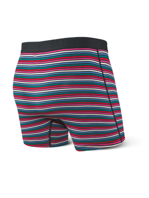 Saxx Vibe Black Witty Stripe