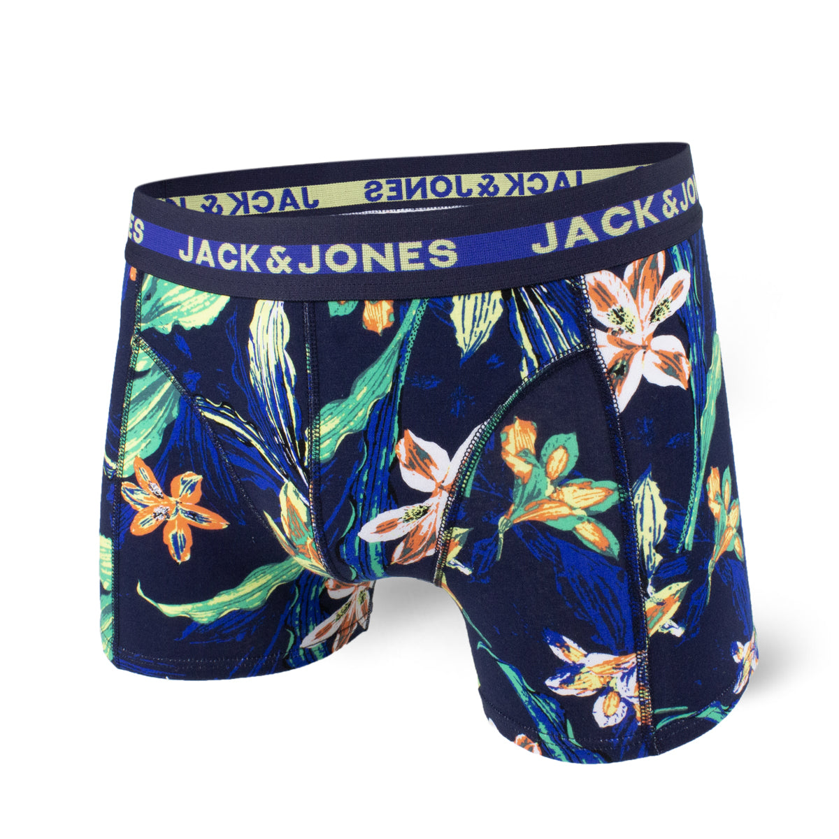 Boxer court Jack & Jones Tropical Navy Blue print