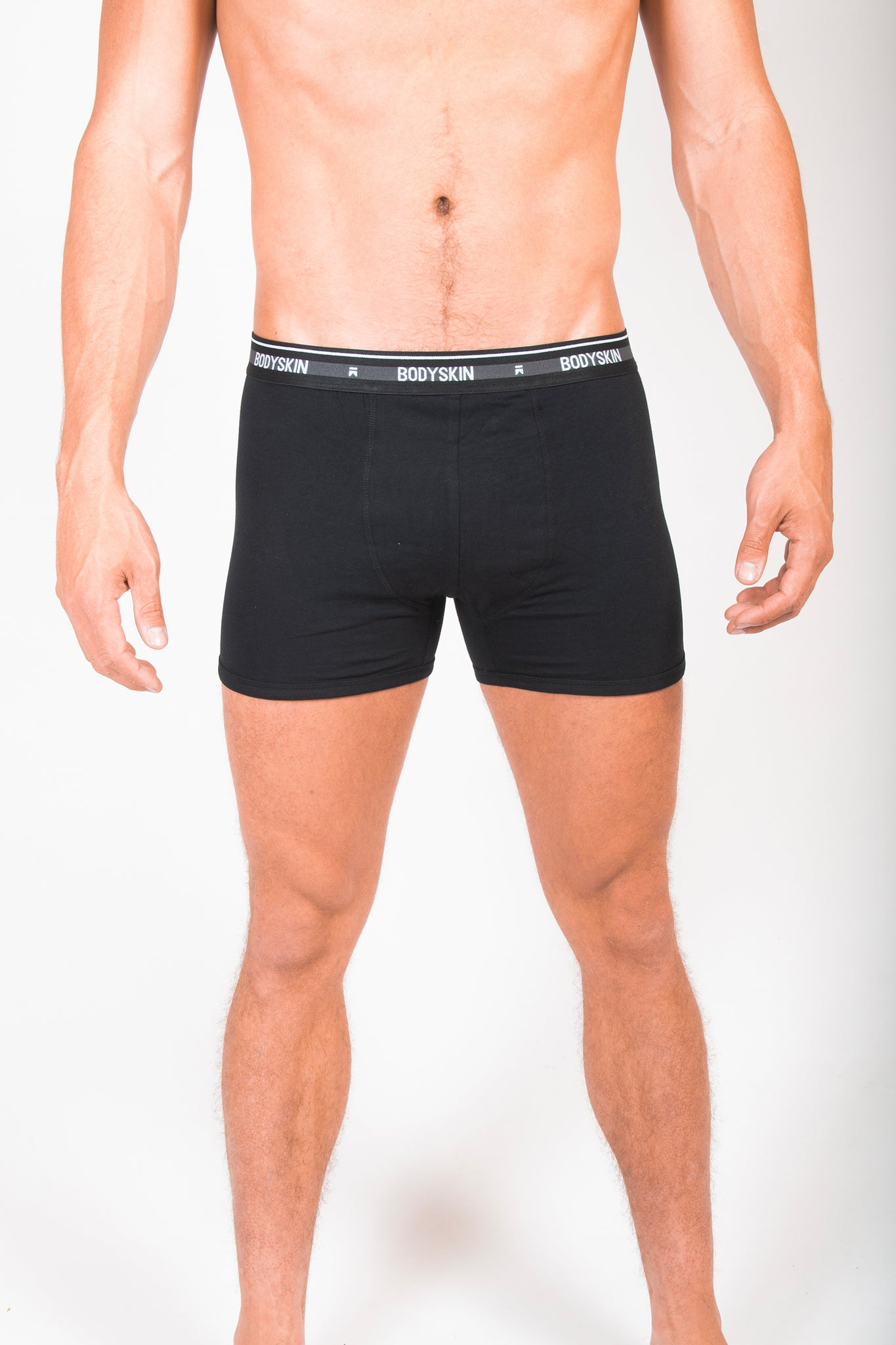 Pack Bodyskin Basic - 2 boxers noirs