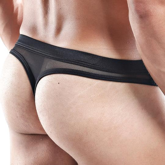 Micro thong Cover Male Black