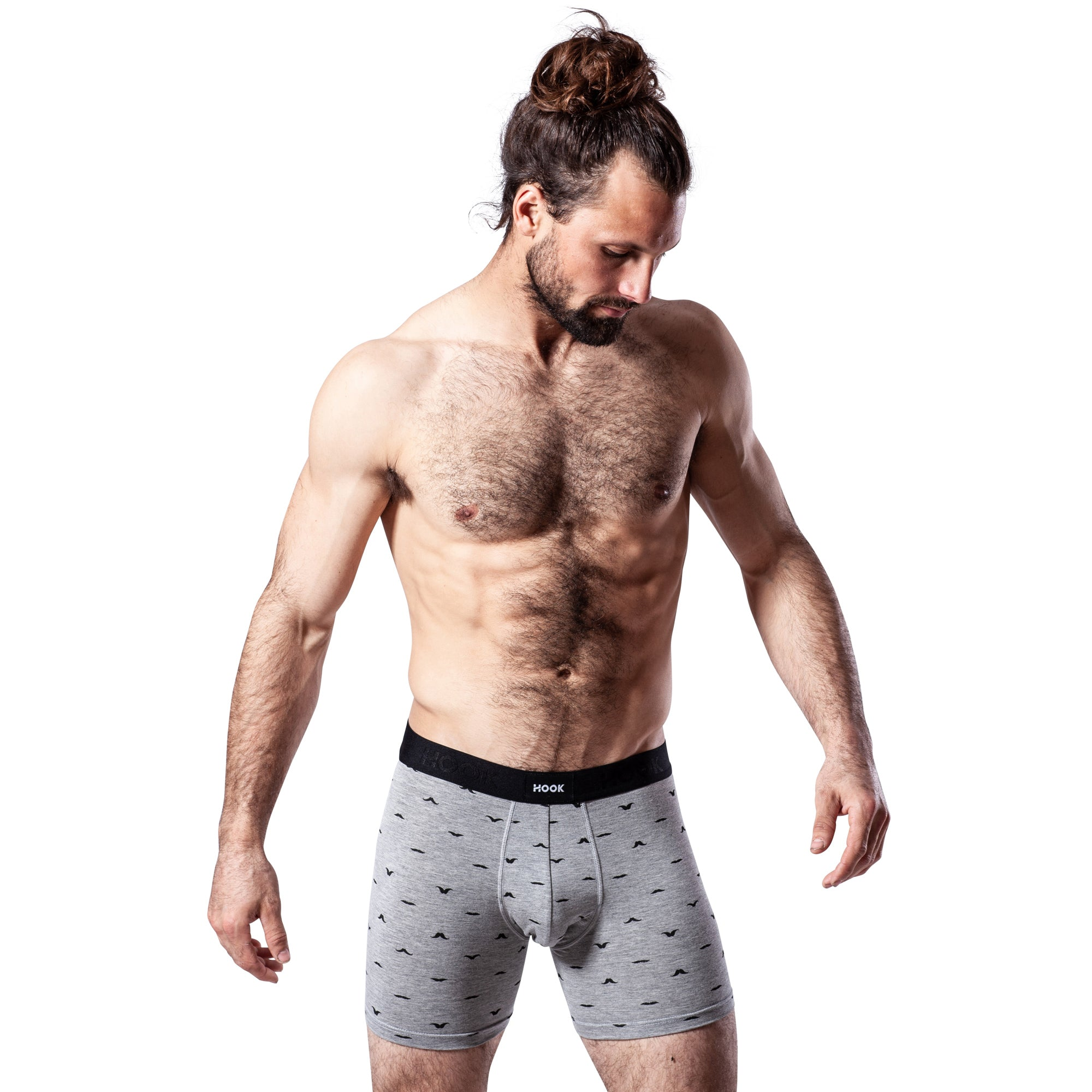 Boxer Hook Underwear Feel Mo noir