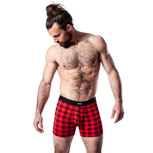 Boxer Hook Underwear Feel Sugar Shack rouge