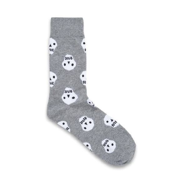 Jack & Jones Skull Sock Grey