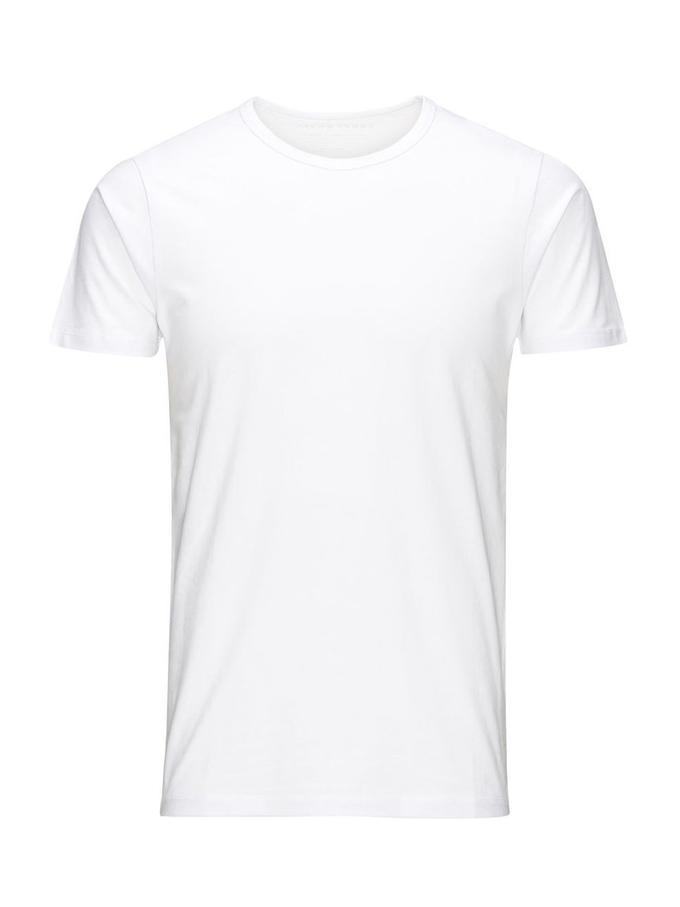 T-shirt col rond Jack & Jones optical white