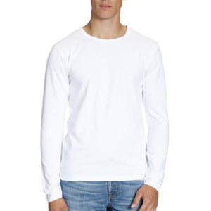 Jack & Jones chandail long en coton blanc