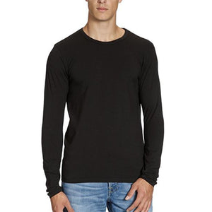 Jack & Jones chandail long en coton noir