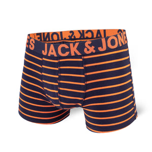 Boxer court Jack & Jones Stripes Orange & Navy