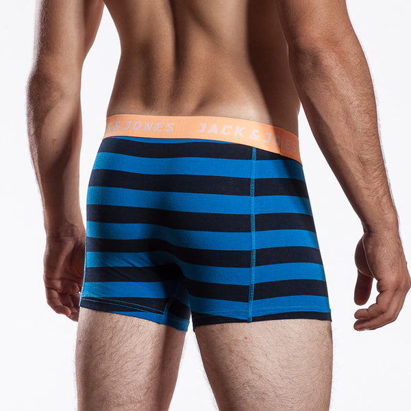 Jack & Jones Yarned Electric Blue Lemonade Boxer